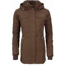 Alpine Pro Dámský zimní kabát Edite hnědý