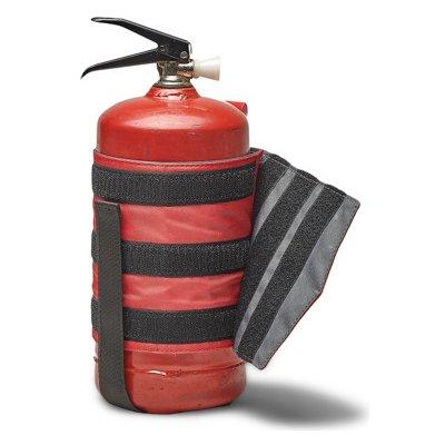 Fixační pouzdro pro hasící přístroj do auta Červený