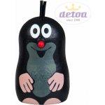 Detoa Dřevěné hračky dekorace Krteček magnet smějící se