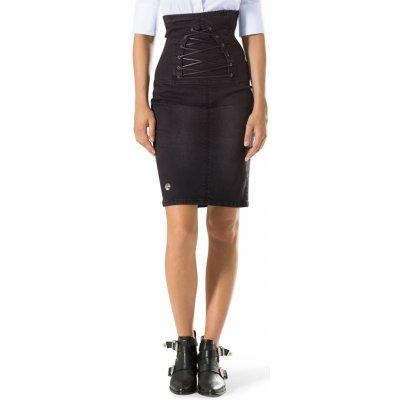Philipp Plein džínová sukně černá
