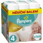 Pampers Premium Monthly Box Box S4 168 ks