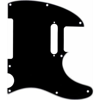 Fender 3-Ply 8-Hole Mount Telecaster Pickguard - Black