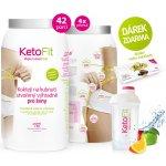 KetoFit Proteinový koktejl 1260 g