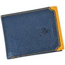 Harvey Miller Polo Club 5031 250 E pánská kožená peněženka modrá