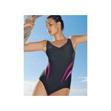 95062e63ae9 Anita 7728 jednodílné plavky s kosticí antracit