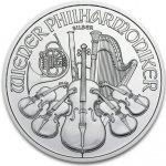 Wiener Philharmoniker Münze Österreich Stříbrná rakouská mince 1 Oz 2014