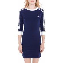 Adidas Originals dámské šaty 3-stripes modrá 909c564603b