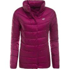 4F dámská zimní bunda H4Z17 KUD009 fialová