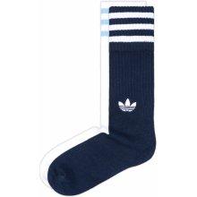 Adidas Originals Solid Crew ponožky 2 páry Modrá Bílá pánské