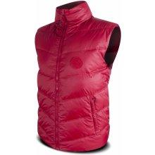 Trimm Atom Dark Red pánská péřová vesta