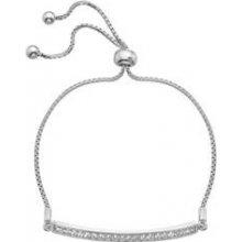 Stříbrný náramek Hot Diamonds Crystal Clear DL515