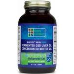 Bio fermentovaný olej z tresčích jater s máselným tukem gel 240 ml