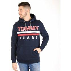 Pánská mikina Tommy Hilfiger pánská tmavě modrá mikina Essential ad12545c8f6