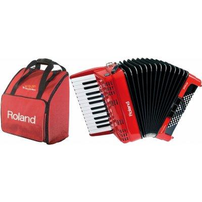 Roland FR-1x Red Bag SET Červená Klávesový akordeon + 1 rok prodloužená záruka zdarma