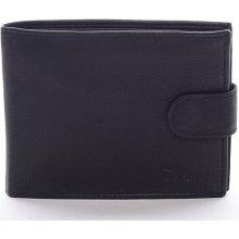 DELAMI Dámská kožená peněženka Highway black