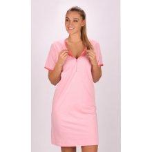 dámská noční košile mateřská Lenka světle růžová