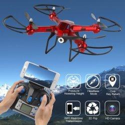RCskladem XXL DRON L5 s HD WIFI kamerou- barometrem-EVOLUTION PRO Sada 4  baterií b61997d5fa