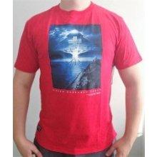 LRG Day & Night Tee Red tričko