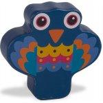O-OOPS Easy-Sound Dřevěné chrastítko Peacock Lady Páv