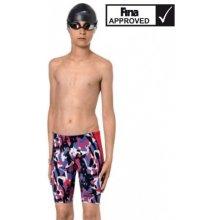 Závodní plavky kombinéza Aquafeel Neck to Knee dívčí trojbarevné. 1 350 Kč  Malý plavec. Závodní plavky juniorské Aquafeel I-Now Jammer 2018 9489f1f640