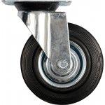 Otočné kolečko, gumové 100kg 125/34/155mm