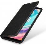 Pouzdro StilGut kožené Book Type bez klipu OnePlus 5T černé