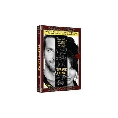 Terapie láskou / Silver Linings Playbook / Knižní edice - DVD