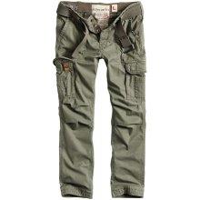 Premium Vintage kalhoty SURPLUS Slimmy olivové