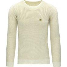 DSTREET Pánský béžový svetr (wx0810)