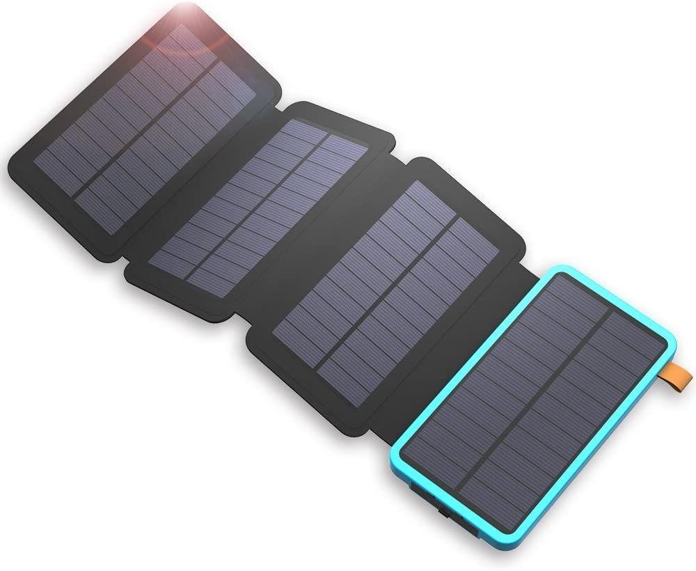 Recenze Solární nabíječka Allpowers XD-SC-010-BBLU