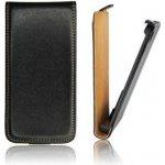 Pouzdro ForCell Slim Flip Sony Xperia J (ST26i) černé