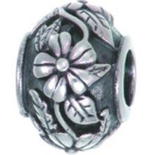 Gaia stříbrný přívěsek květiny