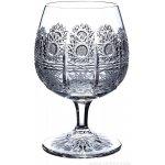 ONTE CRYSTAL Broušené skleničky na rum/brandy/koňak Klasika Balení Dárkové balení v saténu 2 ks 280ml