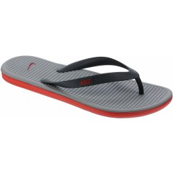 abab989f5b2 Nike Solarsoft Thong 2 Classic Charcoal Challenge Red Dove Gray od ...