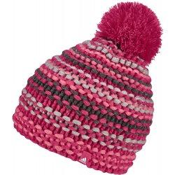 adidas Dívčí čepice s bambulí růžová od 399 Kč - Heureka.cz 8323807f64