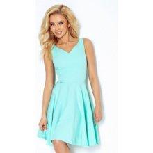 Numoco dámské elegantní společenské a plesové šaty 114-1 mentolová 4d42594b7d4
