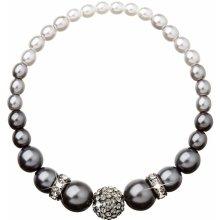 Evolution Group perlový náramek šedý 33062.3