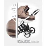 Baby Merc Faster 2 Style 2017 FII/15 + autosedačka Tmavě-béžová