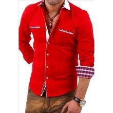 CARISMA košile pánská H-110 dlouhý rukáv Slim Fit f503b31a2d