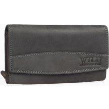 c141974784e Wild Dámská kožená peněženka FASHION4U Černa
