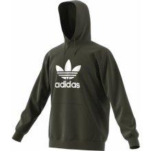Adidas Originals TREFOIL HOODY Zelená ed02f0708a