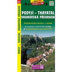 Podyji Thayatal Vranovska Prehrada Mapa 1 50 000 C 53 Od 79 Kc
