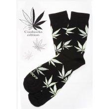 Coolsocks ponožky Black