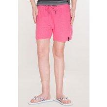 SAM dívčí šortky 73 KPAL110 453SM růžová neon