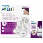 Philips Avent Odsávačka mateř.ml. Natural se zásobníkem 125ml PP+mini láhev