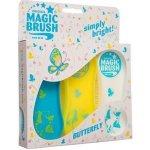 Kartáč MAGIC BRUSH Colour sada 3ks butterfly