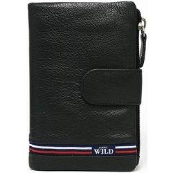 3717ce28b9f Wild Peněženky Černá dámská kožená peněženka v krabičce Černá od 574 ...