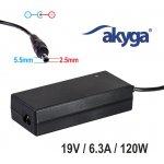 Akyga AK-ND-44 19V/6.3A 120W 5.5x2.5mm konektor - neoriginální