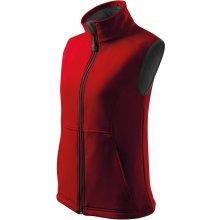 Adler Vision dámská softshellová vesta červená