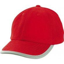 MYRTLE BEACH kšiltovka Security Cap für Kinder Červená dětská aae22eda18